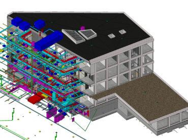 BIM-design example. European IT-Agency (euLISA) Headquarters