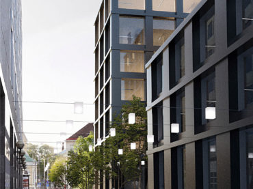 Tatari street 1 commercial building architecture competition