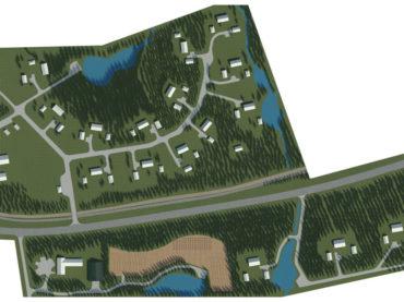 Detailed plan for Sopaniidi-Vesiroosi property