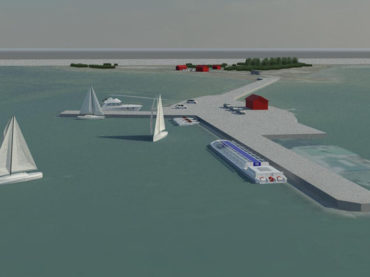 Detailed plan for Sviby harbour
