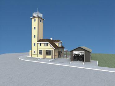 Adaptation of Kärdla firehouse into tourist information centre