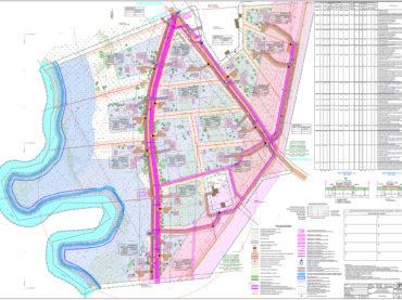 Detailed plan for Kopli property