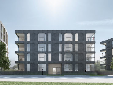 Architecture competition of apartment building in Veerenni area in Tallinn