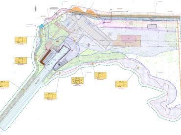 Detailed plan for Haldi harbour