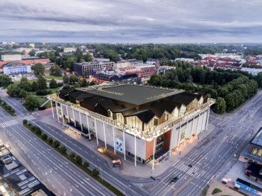Tartu Kaubamaja roof-floor