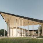 Architectural competition of Rae state gymnasium and sports building
