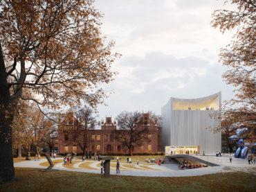 Sara Hildéni kunstimuuseumi uus hoone